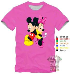 Kit 6 Camisa Camiseta Mickey Minnie Namorados