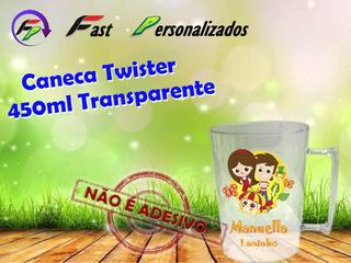 40 Canecas Twister 450ml Sitio Do Pica Pau Amarelo