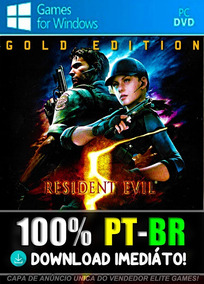 Resident Evil 5 Gold Edition Pc 100% Pt-br Midia Digital!