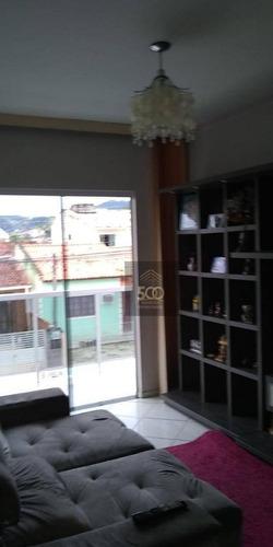 Casa Com 6 Dormitórios À Venda, 250 M² Por R$ 450.000 - Madri - Palhoça/sc - Ca0502