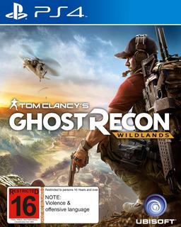 Tom Clancys Ghost Recon Wildlands Digital Ps4