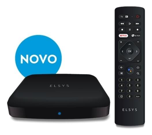 Receptor De Tv 4k Via Internet Com Dtv Elsys - Etri02