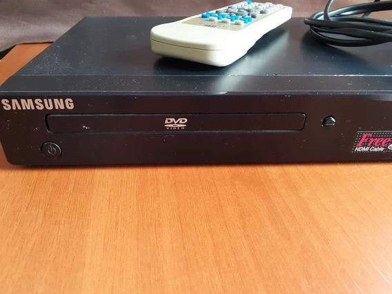Aparelho De Dvd Samsung Mod. 1080-p8 Com Tudo Funcionando