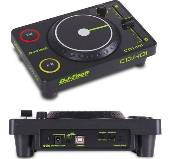 Cdj 101 Dj-tech - Controlador Midi