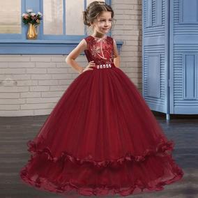 Princesa Vestido De Novia Vestido De Boda Kids Partido Desga