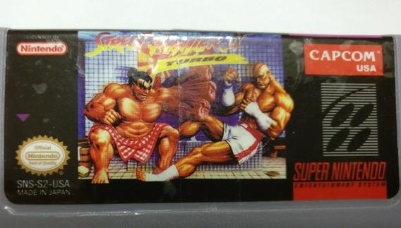 Street Fighter 2 Turbo Snes