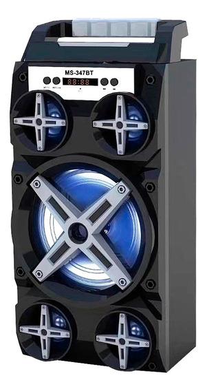 Caixaa Caixinha Som Portatil Via Bluetooth Mp3 Pendrive Pc