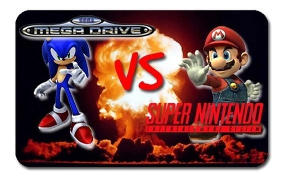 Emulador Super Nintendo E Mega Drive E Todos Jogos+1joystick