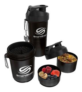 Shaker Smartshake 2go 600 Ml (20 Oz) Color Negro