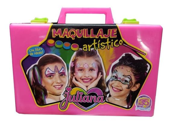 Valija Juliana Maquillaje Artístico Grande Nuevo Modelo Full