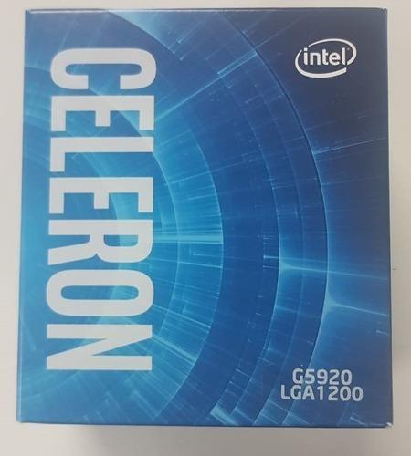Imagen 1 de 1 de Microprocesador Intel Celeron G5920 Socket Lga 1200