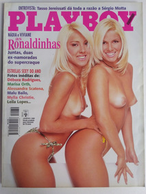 Revista Playboy 270 Jan 1998 Nádia E Viviane 7