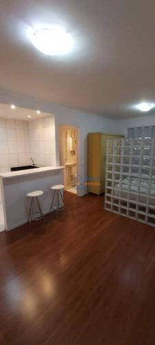 Imagem 1 de 18 de Studio Com 1 Dormitório Para Alugar, 40 M² Por R$ 1.500,00/mês - Santa Cecília - São Paulo/sp - St0068