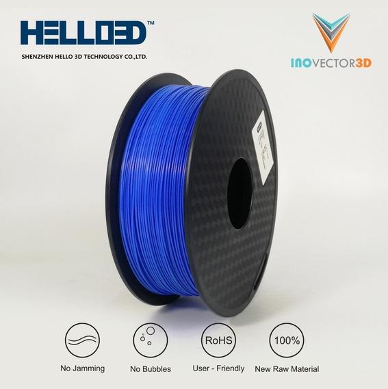 Filamento Pla Azul - Para Impressão 3d - 1kg