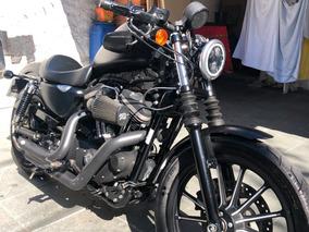 Harley Davidson Iron 883 - 2015 - Preta