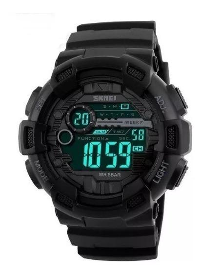 Relógio Masculino Esportivo Militar Shock Digital Skmei 1243