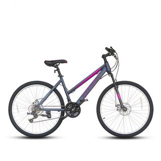 Bicicleta Best De Mujer Freya Aro 26 Gris