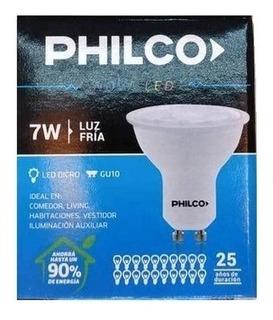 Lampara Led Gu10 Philco 7w =60w