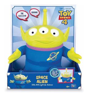 Toy Story 4 - Space Alíen - 27 Cm - Luz Y Sonidos - Original