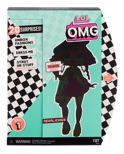 Imagem 1 de 10 de Novo Lançamento Lol Surprise Lol Omg Fashion Doll Neonlicius