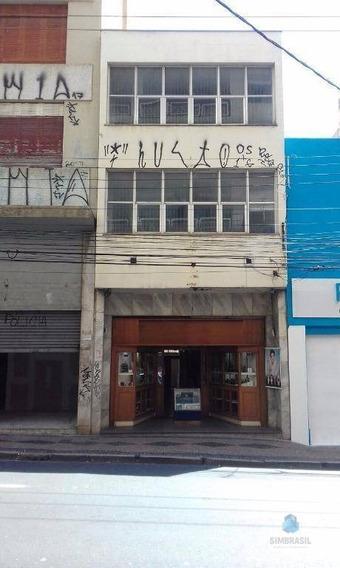 Prédio Comercial Para Locação, Centro, Campinas - Pr0002