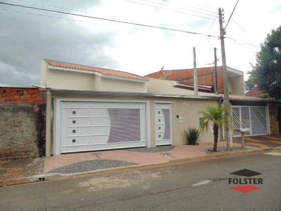 Casa Com 3 Dormitórios Para Alugar Por R$ 1.500/mês - Jardim Belo Horizonte - Santa Bárbara D