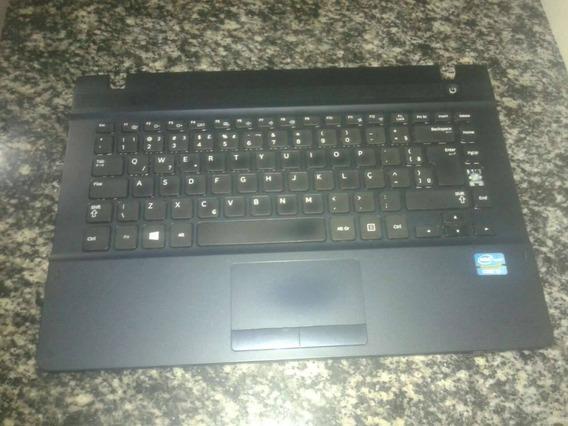 Teclado Notebook Samsung Np270e4e-kd4br - Original - Usado