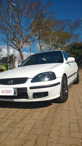 Imagem 1 de 10 de Honda Civic 1999 1.6 Lx Aut. 4p