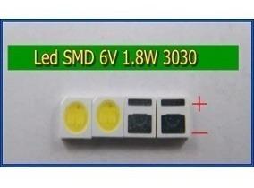 Kit 30x Led Tv 6v 1.8w Smd 3030 Backlight, Emissor De Luz