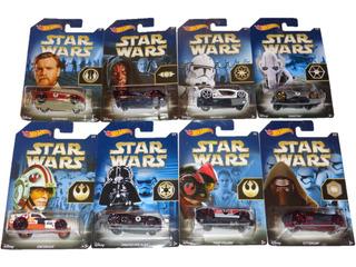 Star Wars Hot Wheels The Force Awakens 2015-2016 Set 8pz.