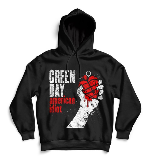 Hoodie Buzo Green Day American Idiot Unisex Rock Activity