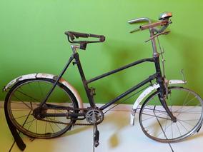 Bicicleta Antiga Infantil Década De 50....