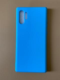 Capa Premium Silicone Flexível Galaxy Note 10 Plus
