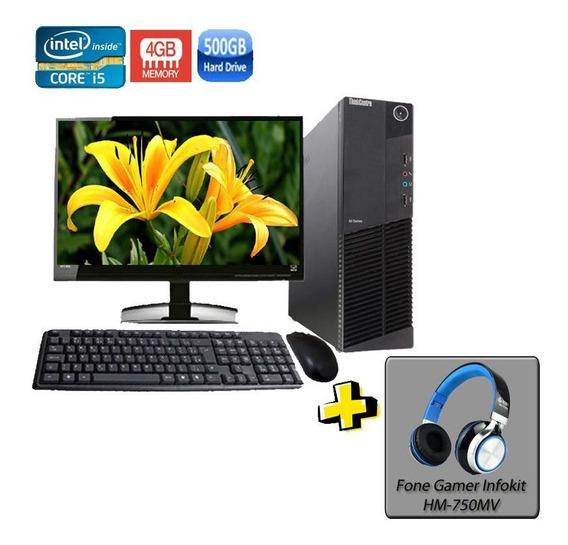 Computador Lenovo M92p Sff I5 3º Geração 4gb Hd500gb + Brind