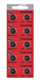 Bateria Lr44 A76 Ag13 1.5v Alcalina Cartela Com 10 Unidades