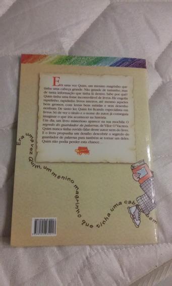 Livros Literatura Infanto Juvenil: O Guardador De Palavras