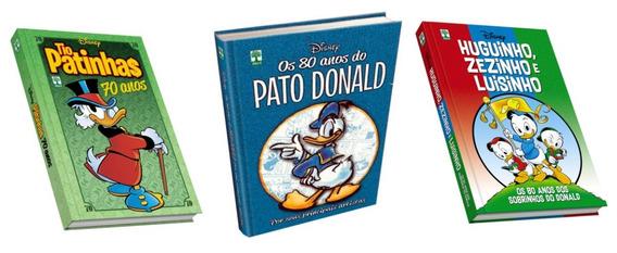 Hq 70 Anos Do Tio Patinhas & 80 Anos Sobrinhos & Pato Donald