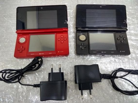 Nintendo 3ds + Carregador E Desbloqueado
