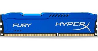 Memoria Ram Ddr3 4gb 1600mhz Hyperx Fury Blue Hx316c10f/4
