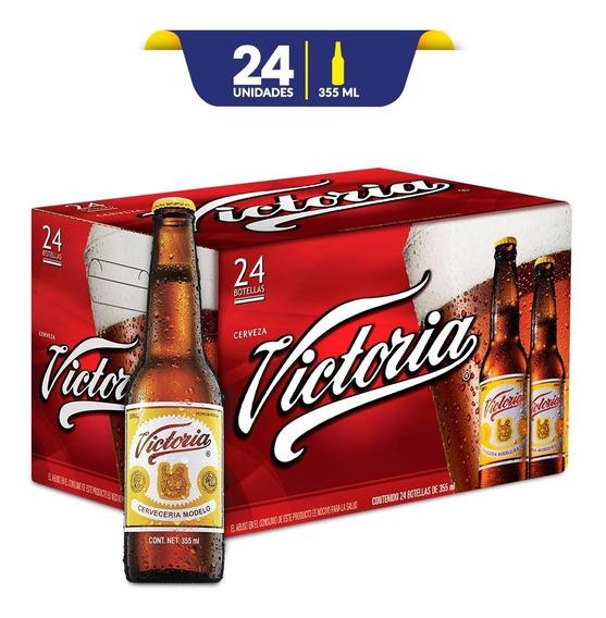 Cerveza Oscura Victoria 24 Botellas De 355ml