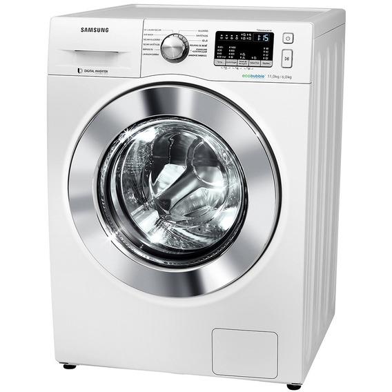 Lava E Seca Samsung 11kg Wd4000 Com Ecobubble 127v, Branca