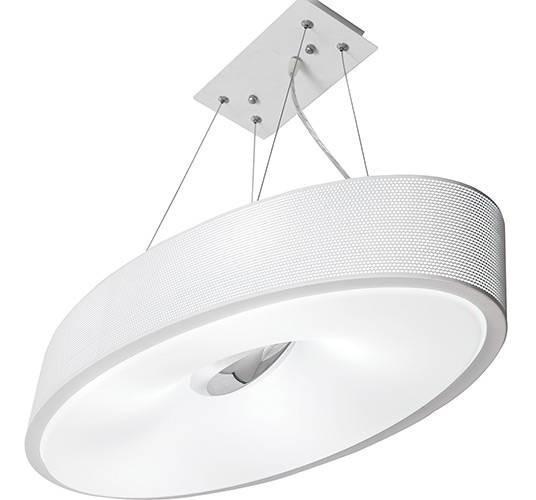Lustre Paflon Para Interiores Branco Startec Drum A8102