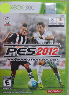 Pes Pro Evolution Soccer 2012 Xbox 360 Play Magic