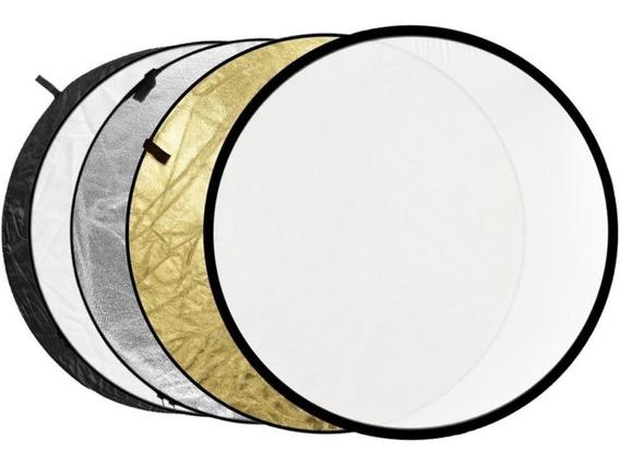 Rebatedor Greika 5x1 Circular Dobrável Diâmetro 110cm Greika