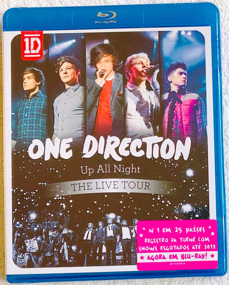 Blu-ray One Direction - Up All Night The Live Tour * Lacrado
