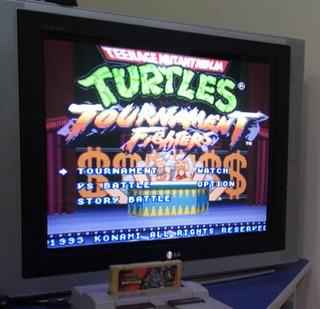 Tartarugas Ninjas Cartucho De Super Nintendo Snes