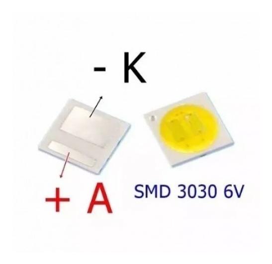Led Backlight Smd 3030 6v Toshiba Dl3944 _10 Peças
