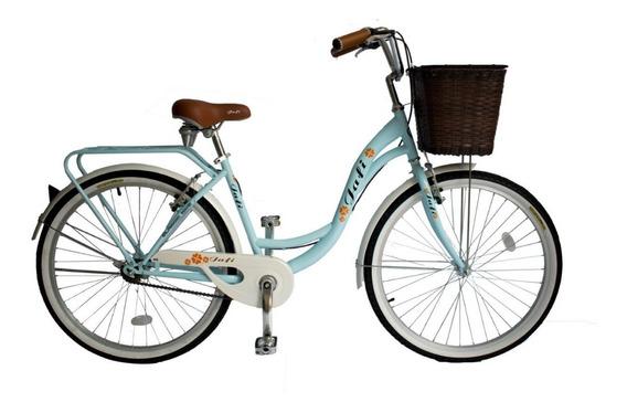 Bicicleta Jafi Vintage Lady De Paseo Mujer Aro 24