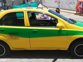 Taxi Con Puesto Legal Chevrolet Aveo Family