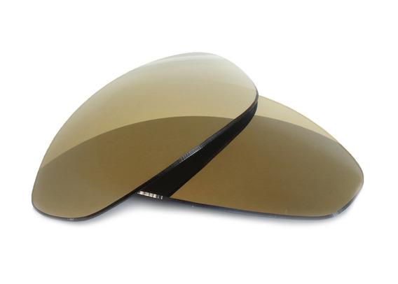 Lente Gold Marrom P/ Oakley Wisker Sedex Grátis Promoção